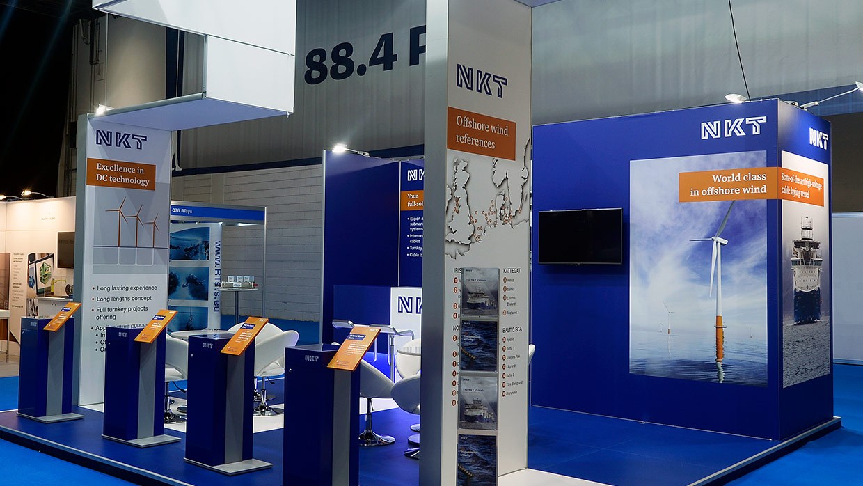 Messestand NKT OffshoreWindenergy 5